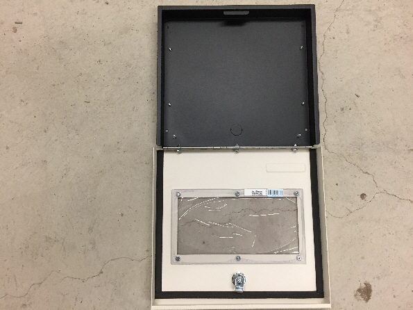 New Mircom BB-1001WP outdoor annunciator enclosure.